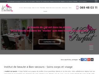 Institut de beauté A Corps Parfait à Bon-secours près d'Hainaut