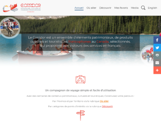 Tourisme francophone Canada - Corridor Canada