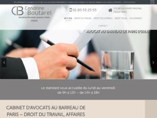 Cabinet d' avocat au Barreau de Paris, Maître Sandrine Boutarel