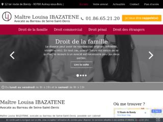 Avocat droit de la famille Aulnay-sous-bois, Bobigny - Me Ibazatene