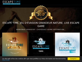 Live escape game Tours