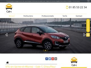 Chauffeur VTC en Seine-et-Marne, Cab-T