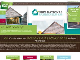 Découvrez YOU le constructeur de maisons en bois en Loire Atlantique