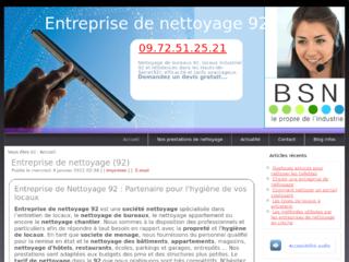 Entreprise de nettoyage industriel dans les Hauts-de-Seine