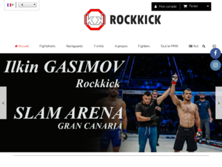 Rockkick Vêtements MMA
