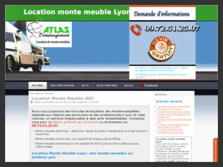 Location de monte meuble à Lyon