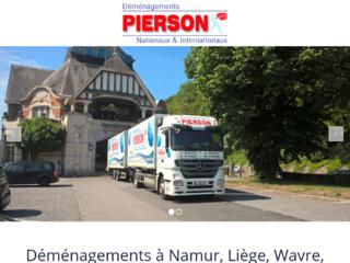 Déménagements Pierson à Wavre, Namur et Liège