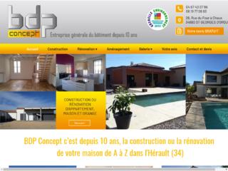 Construction : BDP Concept à Saint Georges d'Orques (34)