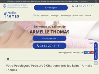 Podologue-pédicure Armelle Thomas à Charbonnières-les-Bains