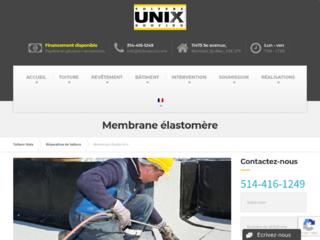 Installation et réfection de toiture en membrane élastomère - Toiture Unix