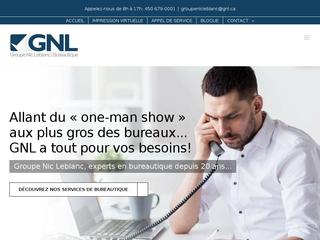 Magasin bureautique - Groupe Nic Leblanc