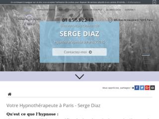 Cabinet d'hypnothérapeute à Paris, Serge Diaz