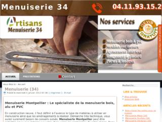 Artisan menuisier Montpellier
