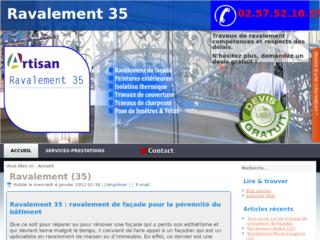 Entreprise de ravalement Rennes