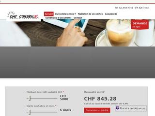 Day Conseils - Solutions de crédit personnalisé (Suisse)