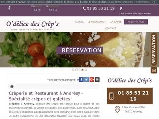 Trouver un restaurant à Andrésy