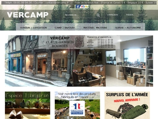 Vercamp - Surplus militaire