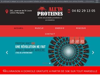 Boutique de protéines à Marseille : ALL'IN PROTEINES