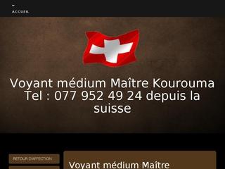 Maître Kourouma, voyant médium en Suisse