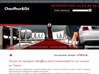 Conduite sécuritaire à Paris : New Chauffeur and Go Event