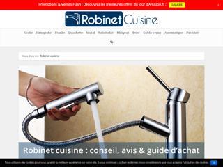 Comparateur des robinets de cuisine
