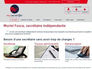 my secret'@ir - Muriel Fusca
