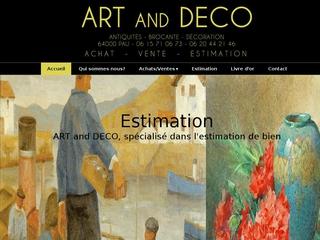 Antiquaire : Art and Déco à Pau (64)