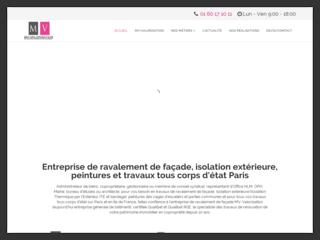 MV-Valorisation - Entreprise de ravalement de façade Paris