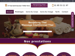Les meilleurs massages traditionnels Thai à Paris
