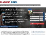 Les plafonds en Pinel 2015