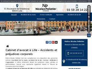 Cabinet d'avocat à Lille