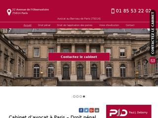 Votre avocat du Droit pénal à Paris