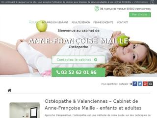 Ostéopathe pour enfant à Valenciennes