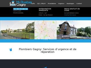 Les services de la plomberie Gagny