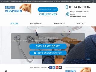 Plombier chauffagiste à Villeneuve-d'Ascq, Chauffe VBS