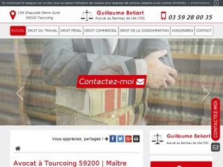 Cabinet d'avocat à Tourcoing : Maître Guillaume Beliart