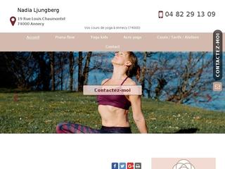 Cours de yoga à Annecy (74000): Prana Yoga