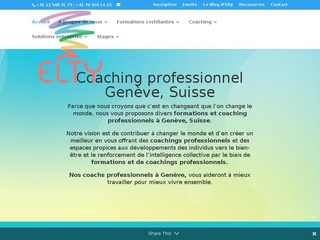 Formation coaching - Elty Coaching