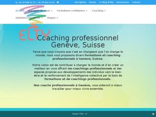 Formation coaching - Elty Coaching