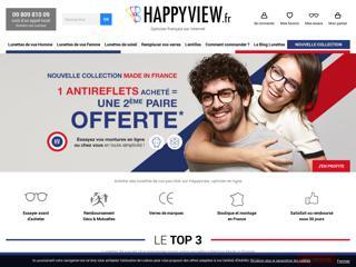 Happyview - lunettes sur internet