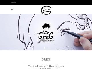Greg, un caricaturiste pour animer vos événements en tous genres