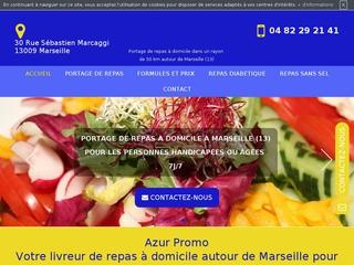 Portage de repas à domicile à Marseille