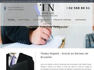 Votre avocat au barreau de Bruxelles