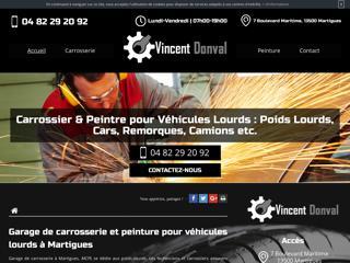Garage de carrosserie  pour véhicules lourds à Martigues