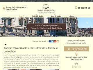 Votre cabinet d'avocat à Bruxelles