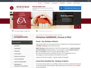 Avocat droit immobilier Pau