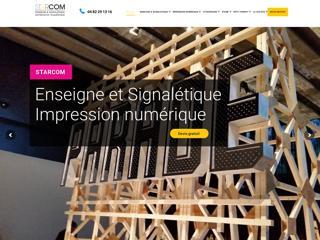 Fabrication d'enseignes et signalétiques à Marseille