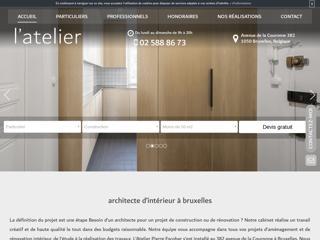 Votre architecte d'intérieur à Bruxelles