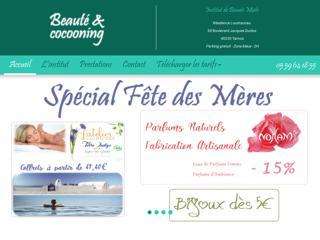 Institut de beauté Bayonne près de Boucau - Beauté & Cocooning
