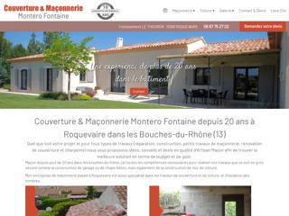 Maçonnerie : MONTERO à Roquevaire (13)